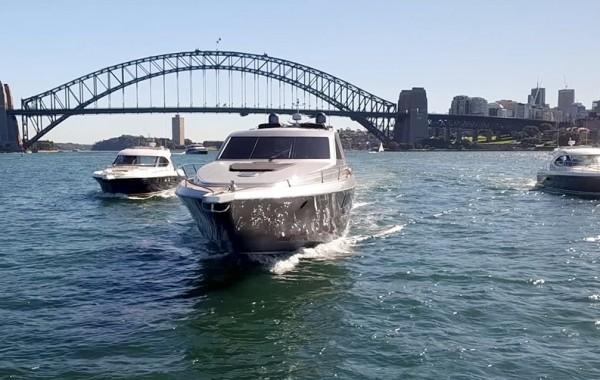 Three Super Yachts